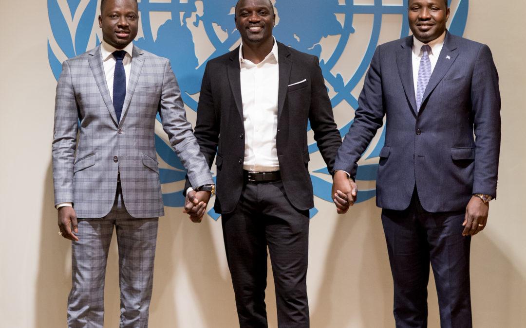 21 mai 2015 Prochaine étape pour le projet Akon Lighting Africa de Solektra : le lancement de la première académie du solaire en Afrique