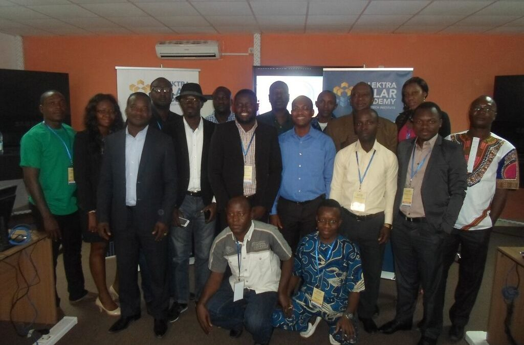 11 february 2016 Solektra Solar Academy completes first training session in Bamako Solar technologies presented to young people from ECOWAS
