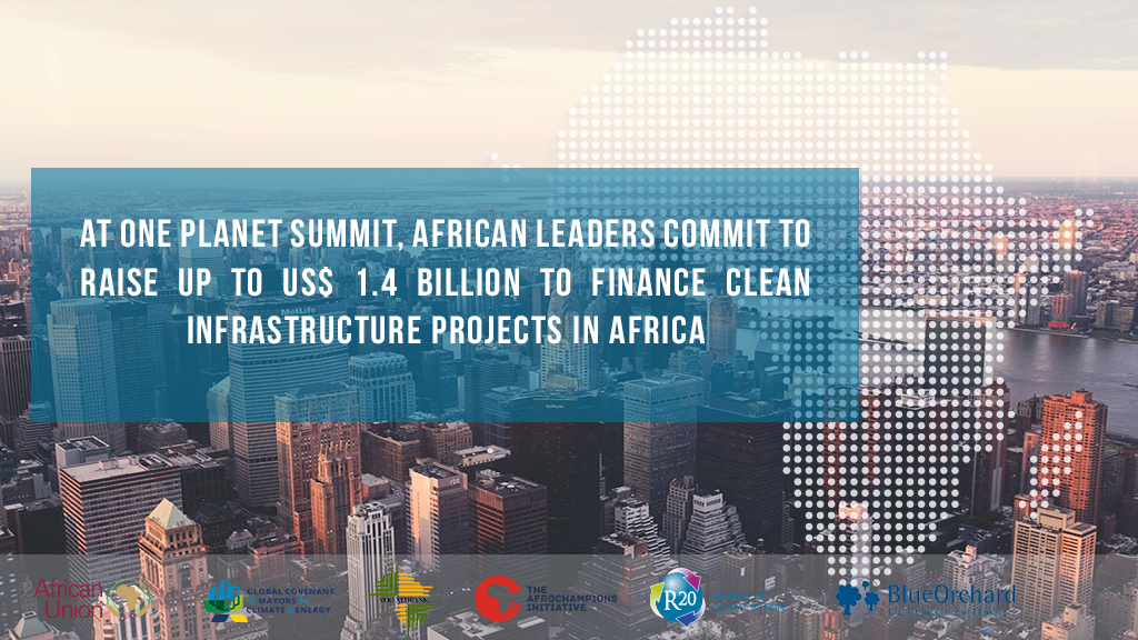 26 September 2018- One Planet Summit, African businesses, including Solektra, commit to raise up to USD 1.4 billion to finance clean infrastructure projects in Africa