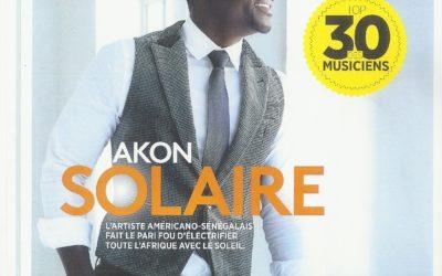 December 2015 Transformer l'Afrique en lui apportant la lumière : la vision qui anime Solektra, présentée par Akon et Samba Bathily dans Forbes Afrique