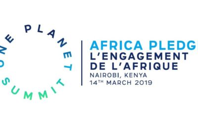Mars 2019- Le point sur les engagements faits au One Planet Summit Afrique lors de la Réunion de Nairobi, parmi lesquels l'Alliance mondiale pour les villes et villages intelligentes en Afrique (Global Alliance for Smart cities and villages in Africa)