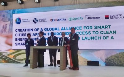 March 14, 2019 – ADS' solar subsidiary Solektra joins the Global Alliance for Smart Cities and Villages in Africa