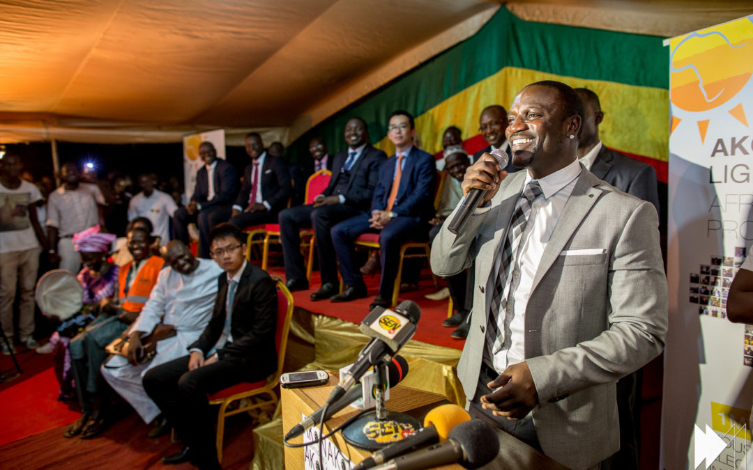 May 2015 Join the race to turn the lights on in Africa, by Akon
