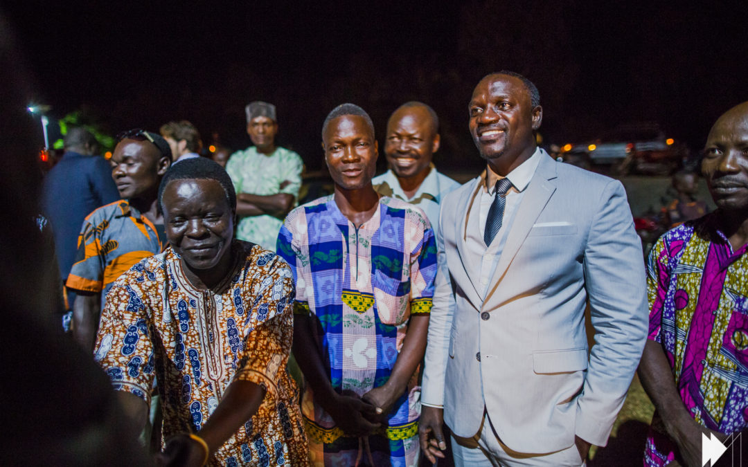 October 2015 Special interview of Akon in boiling Point October 2015 International music artist Akon, along with his two partners, joined the access to energy sector in 2014